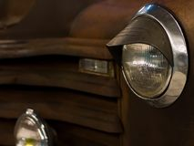 Nowożytny szybkiego samochodu zakończenie Zdjęcie Stock