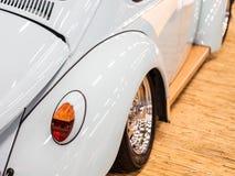 Nowożytny szybkiego samochodu zakończenie Zdjęcia Royalty Free