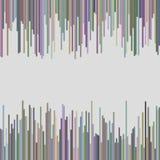 Nowożytny tło od zaokrąglonego pionowo linii wzoru Obraz Royalty Free