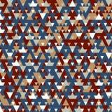 Nowożytny tło z chłodno trójgraniastymi kształtami deseniuje 3d rendering Obraz Stock