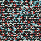 Nowożytny tło z chłodno trójgraniastymi kształtami deseniuje 3d rendering Zdjęcia Royalty Free