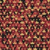 Nowożytny tło z chłodno trójgraniastymi kształtami deseniuje 3d rendering Obrazy Royalty Free