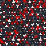 Nowożytny tło z chłodno trójgraniastymi kształtami deseniuje 3d rendering Zdjęcie Royalty Free