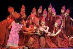 nowożytny tana chiński dramat Obrazy Royalty Free