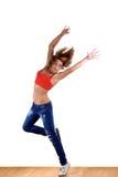 nowożytny tancerza sport obrazy stock