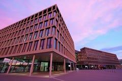 Nowożytny uniwersytet Stosować nauki, kampus, Brugg-Windisch Fotografia Royalty Free