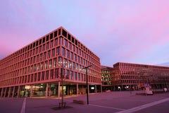 Nowożytny uniwersytet Stosować nauki, kampus, Brugg-Windisch fotografia stock