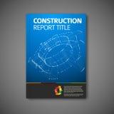 Nowożytny Wektorowy abstrakcjonistyczny broszurka szablon Fotografia Stock