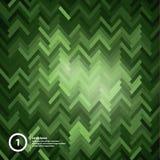 Nowożytny wektorowy abstrakcjonistyczny tło. Futurystyczna mozaika i światła. Royalty Ilustracja