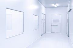 Nowożytny wewnętrzny laboratorium naukowego tło Obraz Stock
