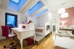 nowożytny wewnętrzny loft Fotografia Stock