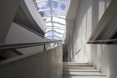 Nowożytny, współczesny schody, fotografia stock