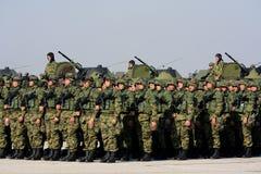 Nowożytny wyposażenie serb Orężny Forces-1 Obrazy Royalty Free