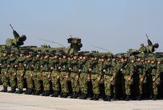 Nowożytny wyposażenie serb Orężny Forces-3 Obraz Stock