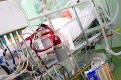 Nowożytny wyposażenie w sala szpitalnej Fotografia Royalty Free