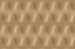 Nowożytny złoty tło Zdjęcie Stock