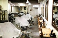 Nowożytny zakład fryzjerski Fotografia Royalty Free