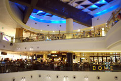 Nowożytny zakupy centrum handlowe obrazy royalty free