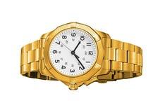 Nowożytny zegarek odizolowywający fotografia royalty free