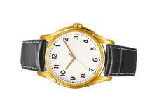 Nowożytny zegarek odizolowywający zdjęcia royalty free