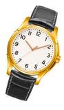 Nowożytny zegarek odizolowywający zdjęcie royalty free