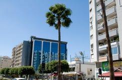 Nowożytna architektura - Limassol, Cypr fotografia royalty free