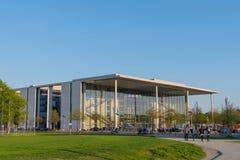 Nowożytna architektura Niemiecki parlament w Berlin Zdjęcie Stock