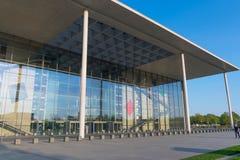 Nowożytna architektura Niemiecki parlament w Berlin Fotografia Stock