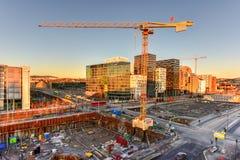Nowożytna architektura - Oslo, Norwegia Fotografia Royalty Free