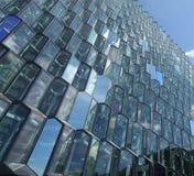 Nowożytna architektura, Reykjavik Obrazy Stock