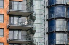 Nowożytna architektura w Berlin Zdjęcie Royalty Free