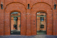 Nowożytna architektura w Brno Zdjęcie Stock