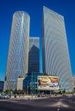Nowożytna architektura w Tel Aviv Obrazy Stock
