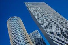 Nowożytna architektura w Tel Aviv Zdjęcia Stock