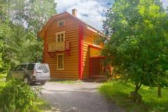 Nowożytna beli kabina w jardzie Zdjęcia Stock