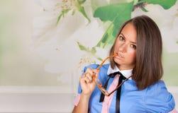 Nowożytna biznesowa kobieta obraz stock