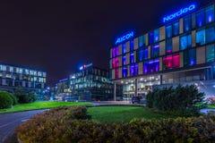 Nowożytna budynek architektura w Gdynia Zdjęcia Royalty Free