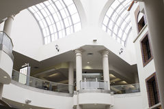 Nowożytna centrum handlowe scena Obraz Royalty Free