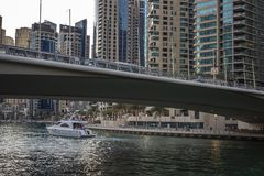 Nowo?ytna Dubaj architektura zdjęcia royalty free