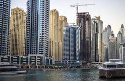Nowo?ytna Dubaj architektura obraz stock