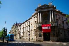 Nowożytna galeria, Zagreb, Chorwacja Obrazy Stock