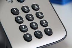 Nowożytna klawiatura w telefonie Obraz Stock
