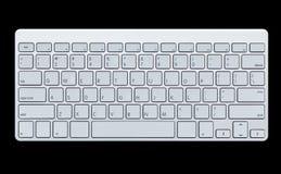 Nowożytna komputerowa klawiatura Fotografia Royalty Free