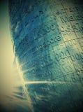 nowożytna kruszcowa statua Zdjęcia Royalty Free