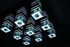 Nowożytna lampa Zdjęcia Stock