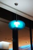 Nowożytna lampa na suficie Zdjęcia Royalty Free