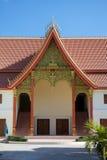 Nowożytna Laotian architektura przy Watem Si Saket, Vientiane, Laos Obrazy Stock