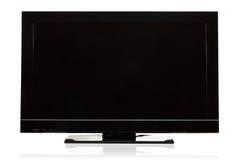 nowożytna Lcd telewizja Zdjęcie Royalty Free