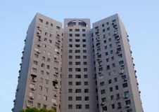 Nowożytna lokalowa budowa w Szanghaj Zdjęcia Royalty Free