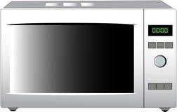 nowożytna mikrofali kuchenka Zdjęcie Stock